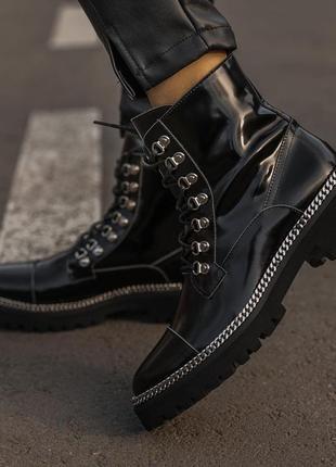 Balmain luxury boot женские ботинки без меха