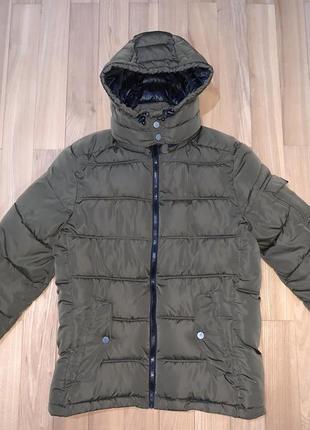 Куртка тепла зимова bershka розмір 36 s-m ріст 170 стан відмінний!