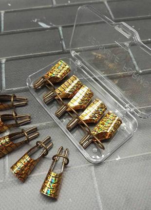 Формы для наращивания ногтей многоразовые, 5шт