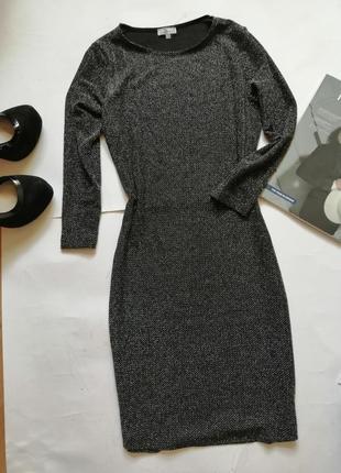 Блестящее платье по фигуре р м