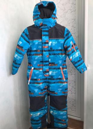 Зимовий термо комбінезон для хлопчика