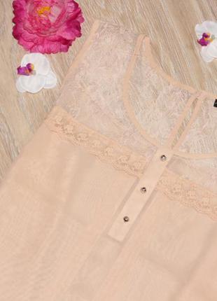 Нежная, нюдовая блуза, очень много вещей в наличии+скидки, заходите!