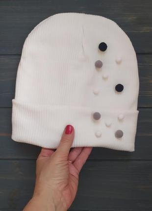 Шапка бини шапка зимняя