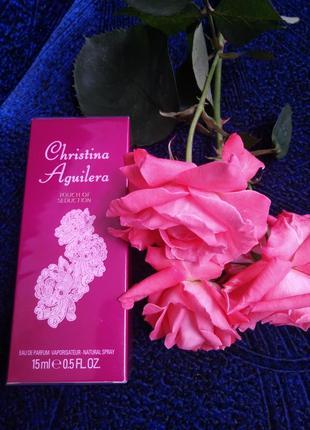 Christina aguilera touch of seduction оригинал, парфюмированная вода новая