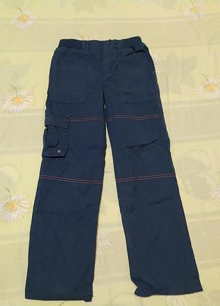 Синие штаны, длина 75, от 29, об 39
