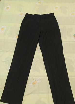 Черные брюки класика, длина 92, от 33, об 44