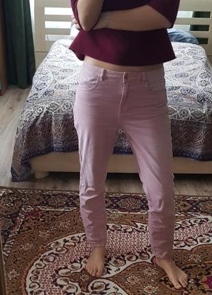Рожеві джинси джинсы next