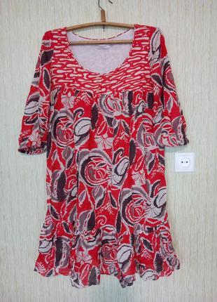 Платье туника хлопок