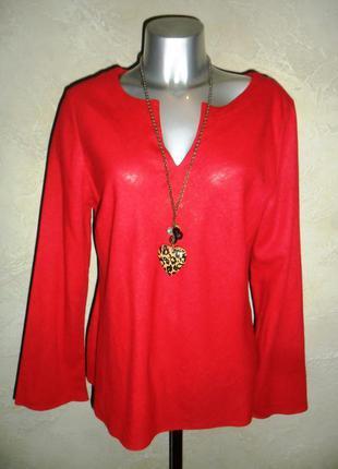 Красная льняная вискозная этно рубашка tesco xxl-3xl 18