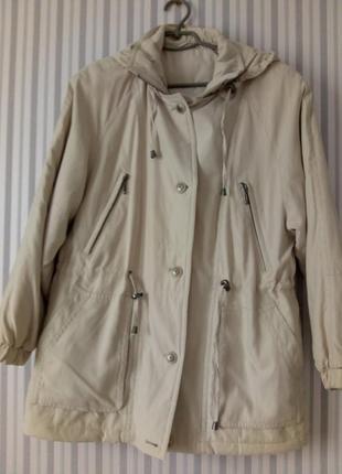 Осенняя (тёплая зима) куртка ,немецкая новая 38 размер (наш 46-48)