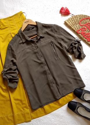 Рубашка only в стиле милитари
