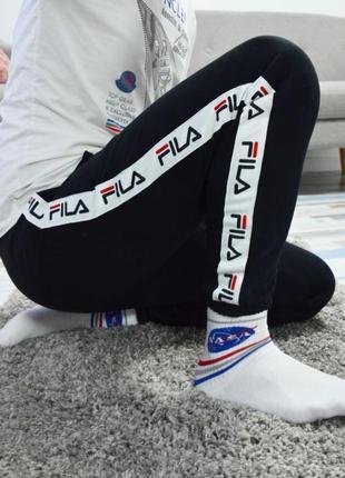 Теплые спортивные штаны джоггеры fila 🌡⛄