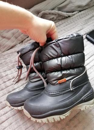 Термоботинки demar 26р. 16см., зимние ботинки