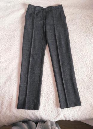 Шерстяные классические брюки со стрелками max mara studiо р. s-36 оригинал