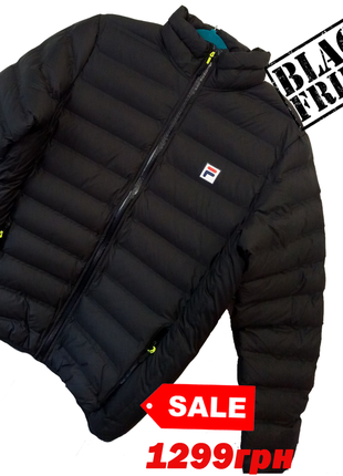 Мужская теплая куртка-пуховик