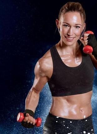 Топ crivit спортивный с высокой поддержкой,одежда для фитнеса