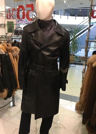 Adamo  кожаное пальто