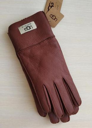 Теплые женские перчатки ugg australia