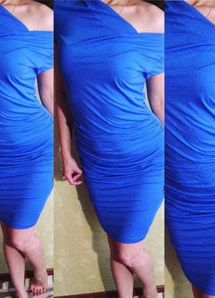Красивое синее платье bonprix & bodyflirt