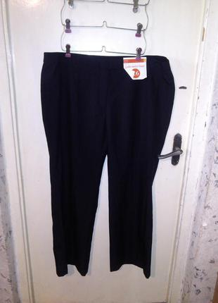 Новые,чёрные брюки,большого 22r размера, basics