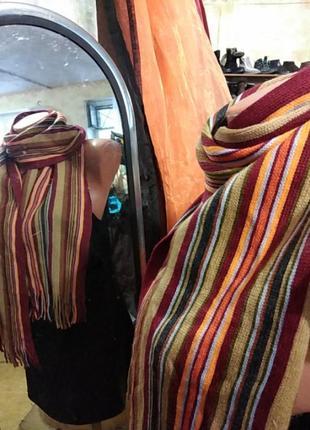 Шикарный трикотажный мужской шарф германия