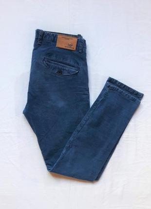 Синие брюки мужские