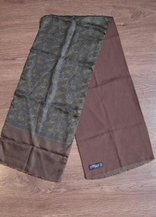 Стильный  мужской  двухсторонний шарф кашне  pelo.
