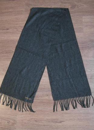 Двухсторонний  мягкий, уютный шарф cashmilon