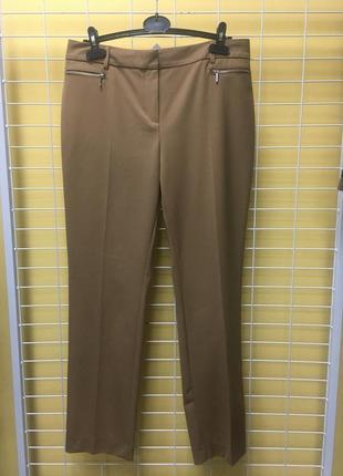 Стильные брюки цвета camel