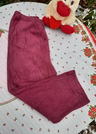 Очень теплые флисовые штаны на небольшой рост