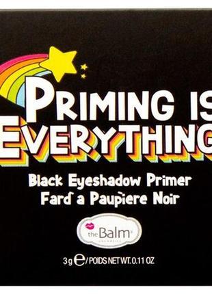 Thebalm priming is everything  черный праймер