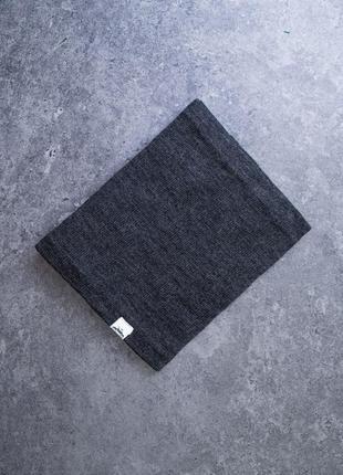 Мужской теплый шарф - хомут на флисе в ассортименте