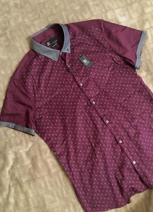 Рубашка с коротким рукавом фирма бренд