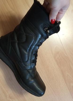 Германия,зимние!роскошные,красивые,кожаные ботинки,ботиночки,ботильоны,полуботинки