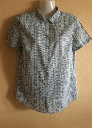 Рубашка с коротким рукавом organic cotton marc o polo