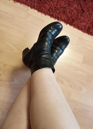 Германия,утепленные,роскошные,кожаные ботильоны,полусапоги,полусапожки,ботильены,ботинки