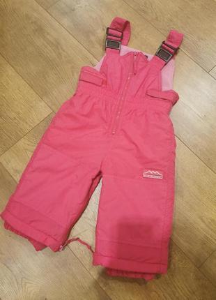 Зимние тёплые штаны, комбенизон, лыжные штаны