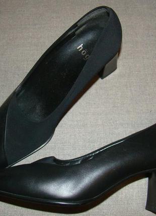 Туфли hogl квадратный носок