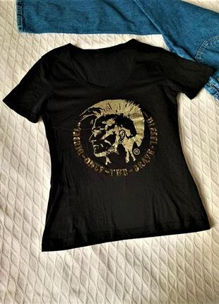 Женская футболка р.l diesel
