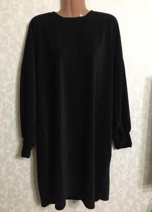 Платье велюровое,платье большого размера,шикарное мягкое платье