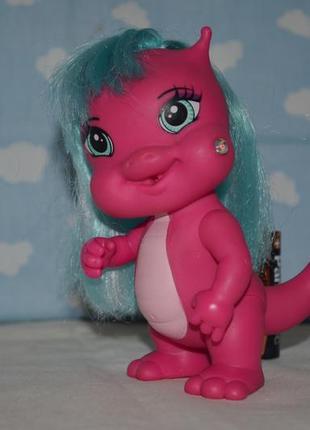 Mega кукла коллекционная игрушка дракончик дракон динозаврик оригинал
