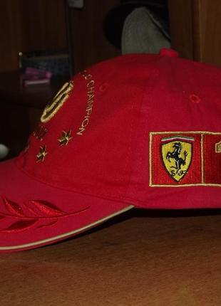 Винтажная кепка  michael schumacher ferrari f1, 2002 год