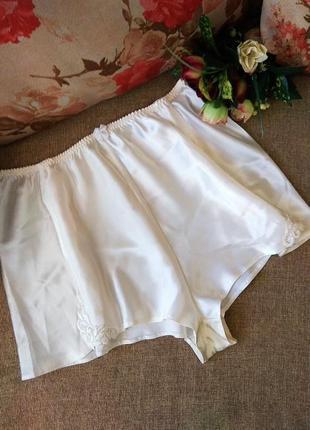 Шикарные сливочные шортики для сна, низ от пижамы