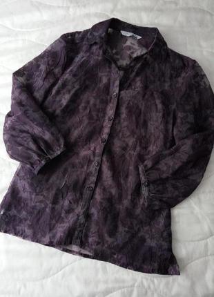 Фіолетова блуза george