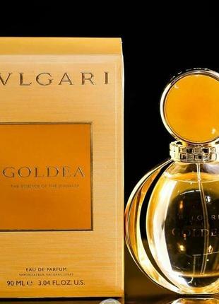 Женская парфюмированная вода bvlgari goldea  90 мл