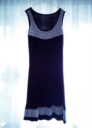 Летнее черное платье incity 🌼