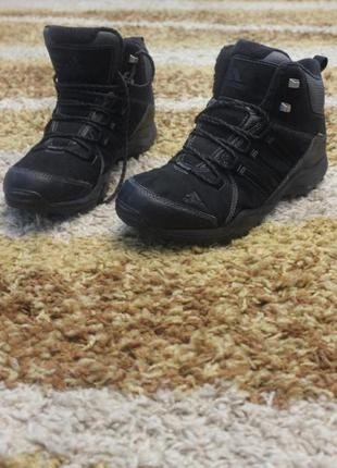 Ботинки зимние adidas 42.5 р-р, б/у