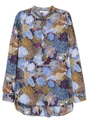 Легкая блуза в цветочный принт h&m
