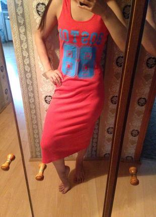 Крутое платье миди