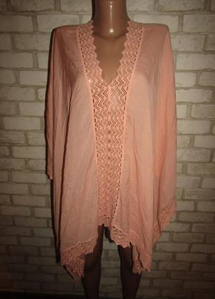 Красивая накидка блуза р-р 12-14-16 бренд superstar